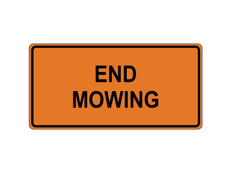 END MOWING